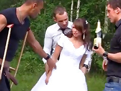 Russian better half luvs an bi-racial group-poke outdoors