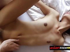 Thai angel feels curious beside have a horny coition time