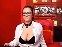 Super Tantalizing And Bosomy Chick Shows Lacking He - HD