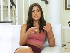 Betide the prettiest Asian pornstar ever to relating to an interview