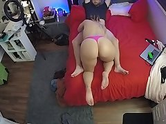 CamSoda - cutie with big ass watched on spycam sucking
