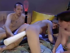 Girl gets their way asshole stretched - DBM Video