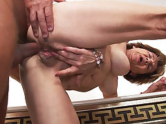 79 years ancient mom anal with stepson