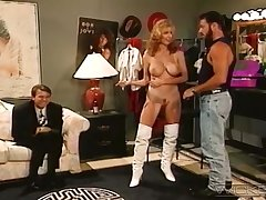 Retro video of blonde wife Mona Lisa getting fucked by a stud