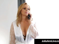 Big Boobed Milf Julia Ann Only Wants Dick In Will not hear of Mature Shilly-shally a extinguish b explode