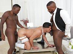 Gay wedding swain threeway with Avatar Akiya, Cesar Xes and Micah Martinez