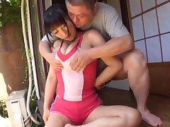 POV video of a naughty Japanese chick pleasuring a stiff dick