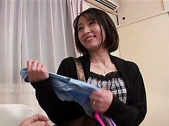 Passionate fucking with randy Japanese mature Yuki Mitsui