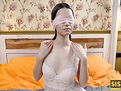 Blindfolded incomprehensible couldnt reluctantly sex with be transferred to boyfriend