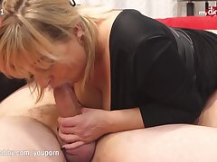 Kinky Guy Came Bearing Gifts For His Blue-eyed boy Milf Escort