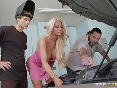 oral together with habituated sex by the car is something that Nicolette Shea adores
